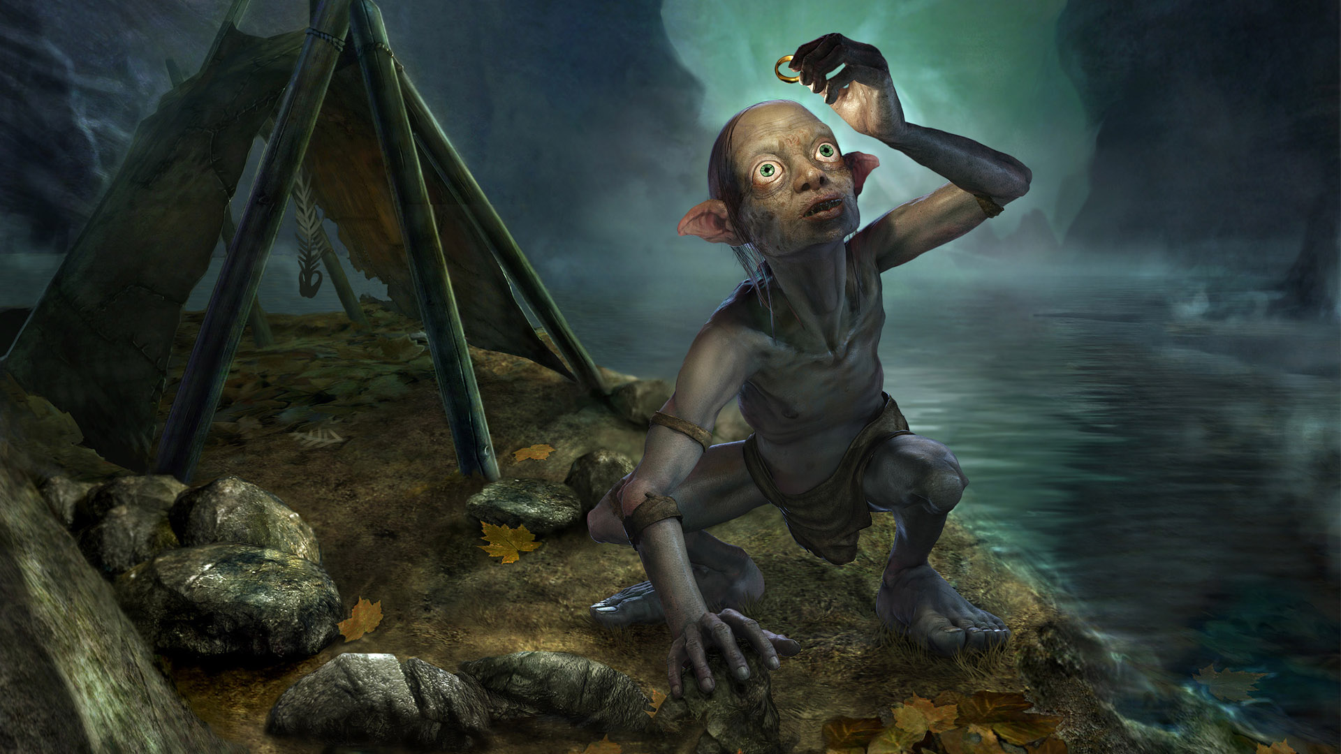 Smeagol Lord Of The Rings Hd Wallpaper Hd Wallpapers