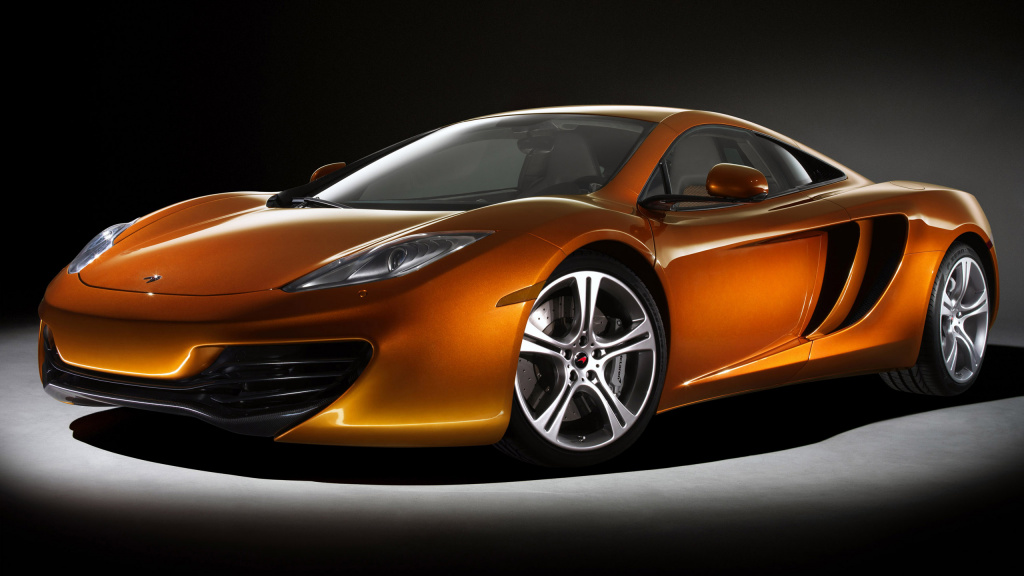 2011 McLaren MP4-12C HD Wallpaper