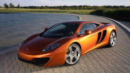 2011 McLaren MP4-12C Front Angle