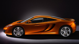 2011 McLaren MP4-12C Side View