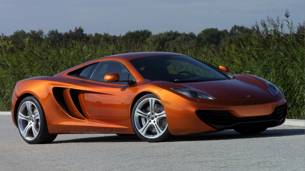 2011 McLaren MP4-12C Supercar HD Wallpaper