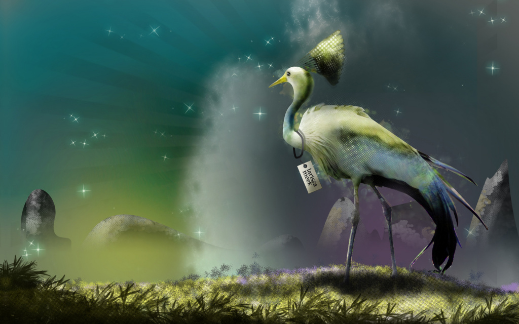 A Bird Came Down HD Wallpaper