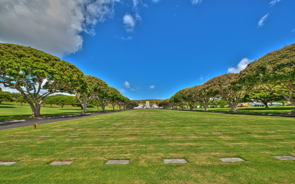 Acres Of Honor, Lower Punchbowl, Honolulu, HI, US HD Wallpaper
