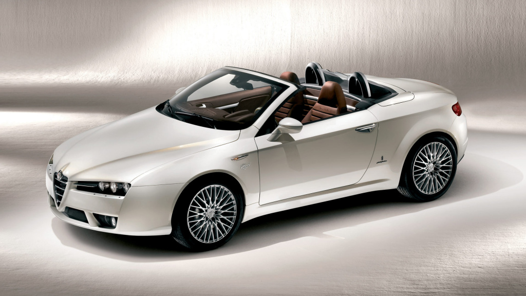 Alfa Romeo Spider HD Wallpaper