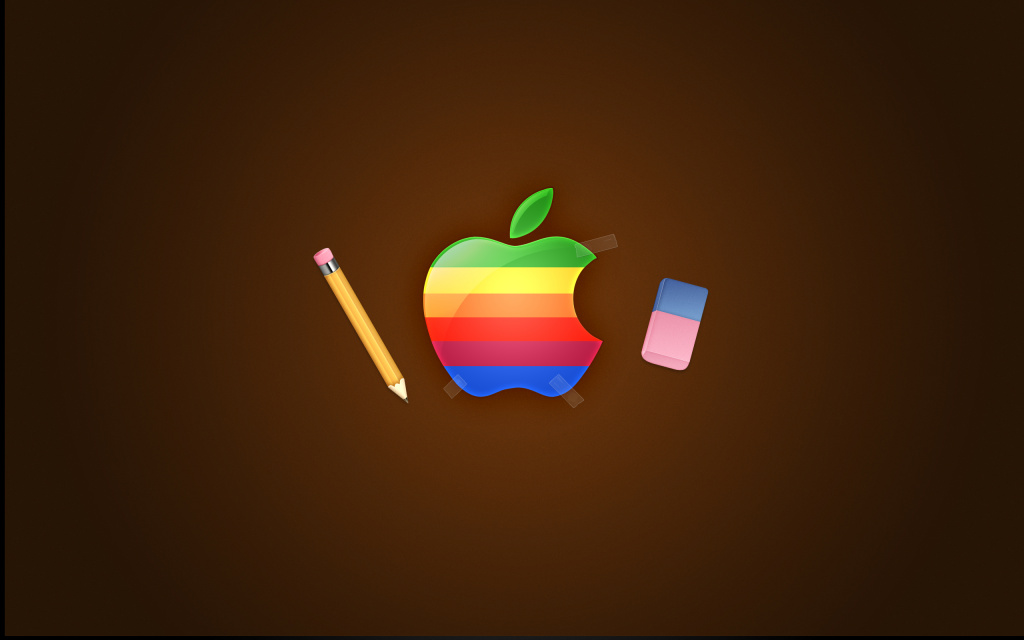 Apple Retro HD Wallpaper