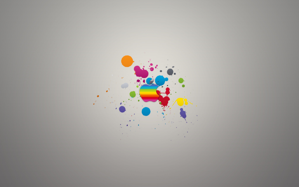 Apple Splash HD Wallpaper