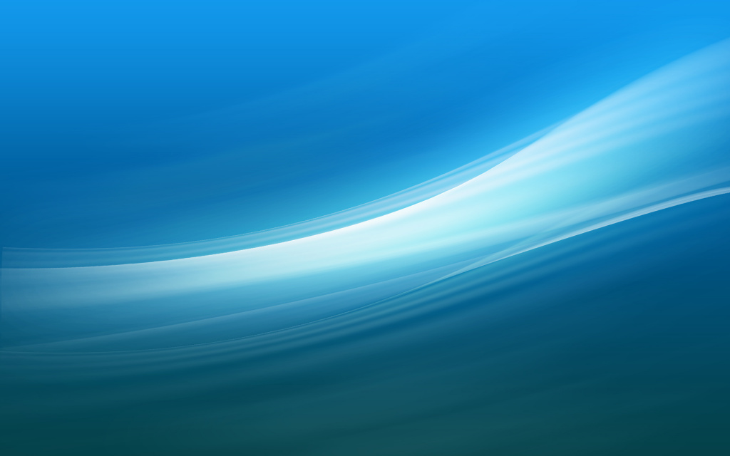 Blue Digital Waves HD Wallpaper