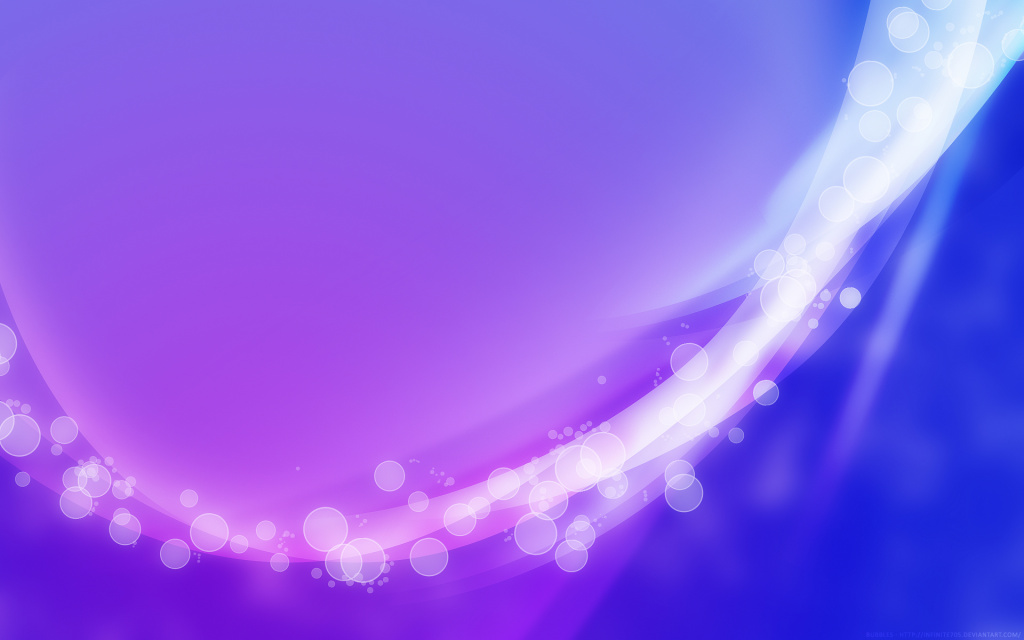 Bubbles Purple HD Wallpaper