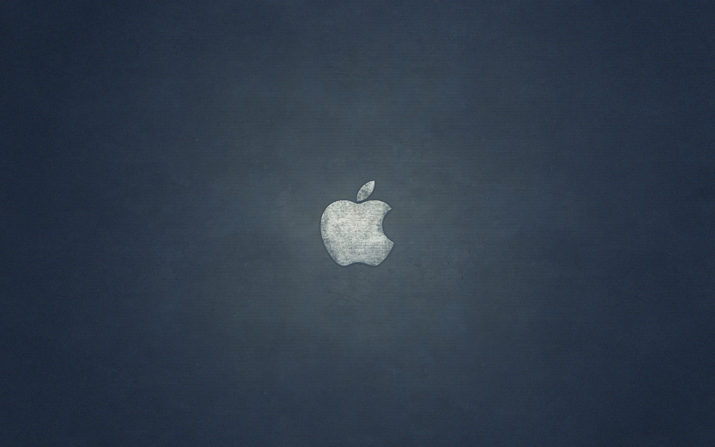 Concrete Apple HD Wallpaper