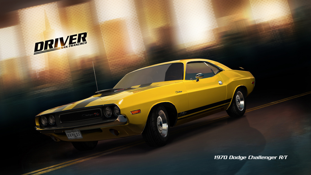 Driver San Francisco - 1970 Dodge Challenger RT HD Wallpaper
