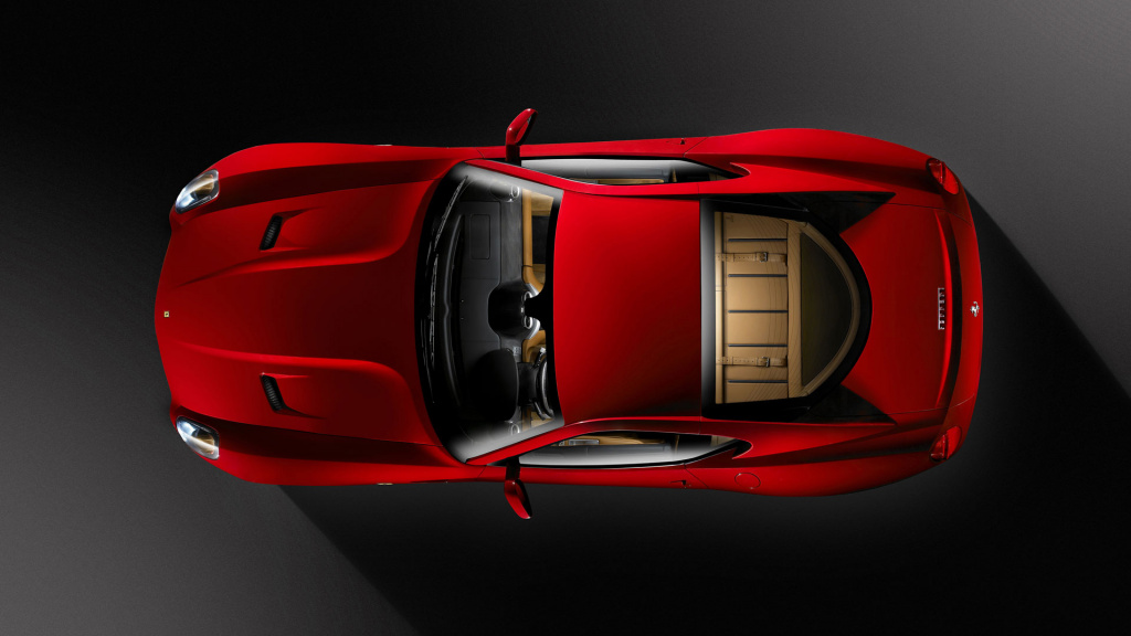 Ferrari 599 Top View HD Wallpaper