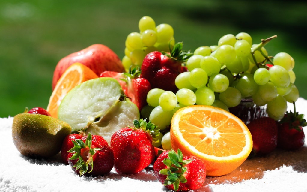 Fresh Fruits HD Wallpaper