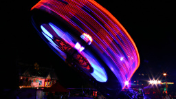 Fun Wheel, Night
