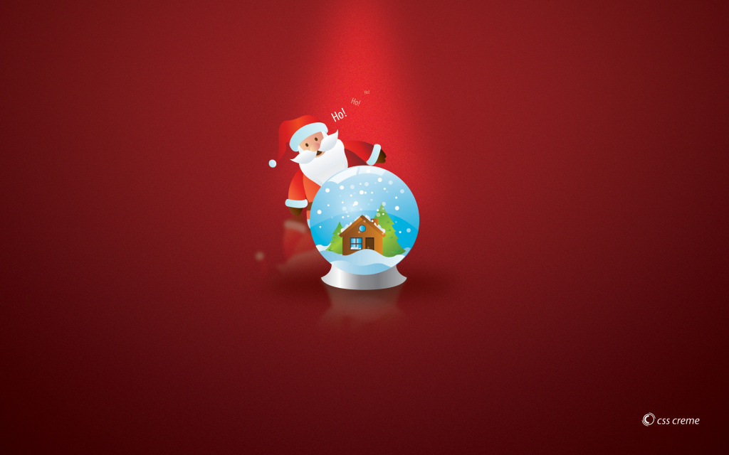 Ho! Ho! Ho! HD Wallpaper