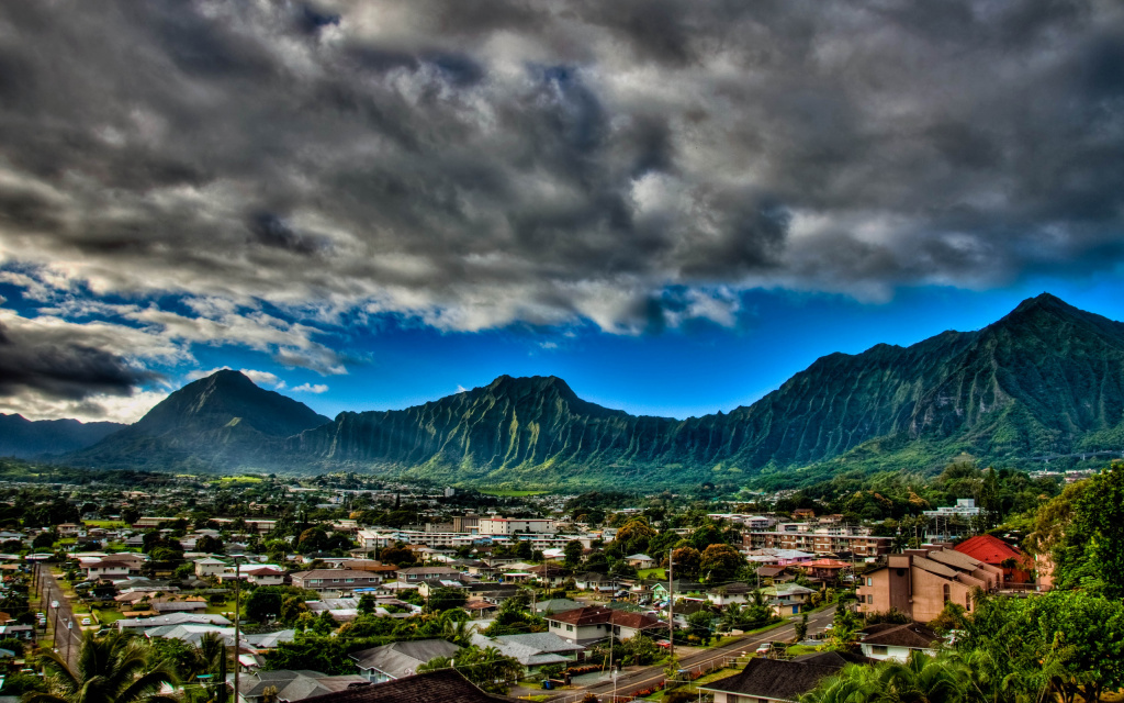 Kaneohe, HI, US HD Wallpaper