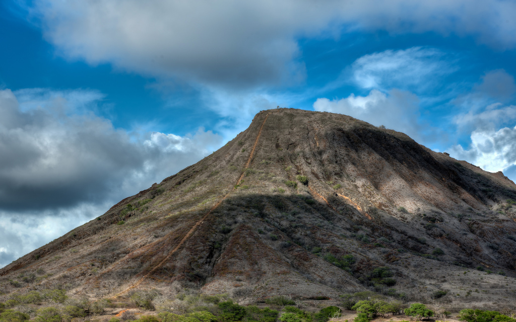 Koko Crater HD Wallpaper