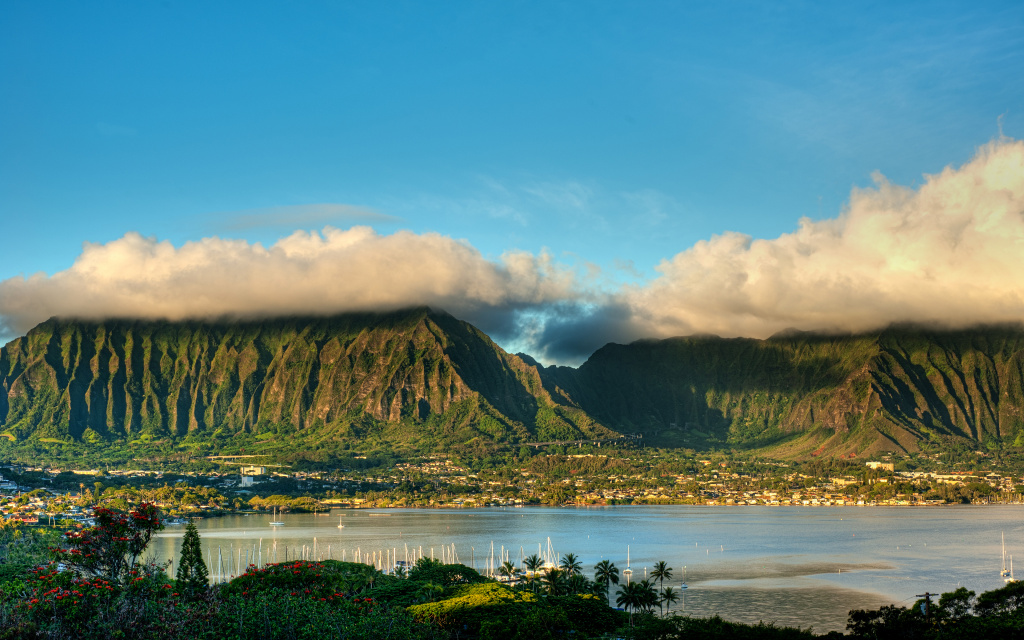 Koolau And H3 HDR HD Wallpaper