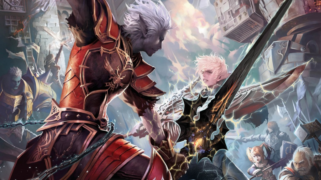 Lineage II  The Chaotic Throne HD Wallpaper