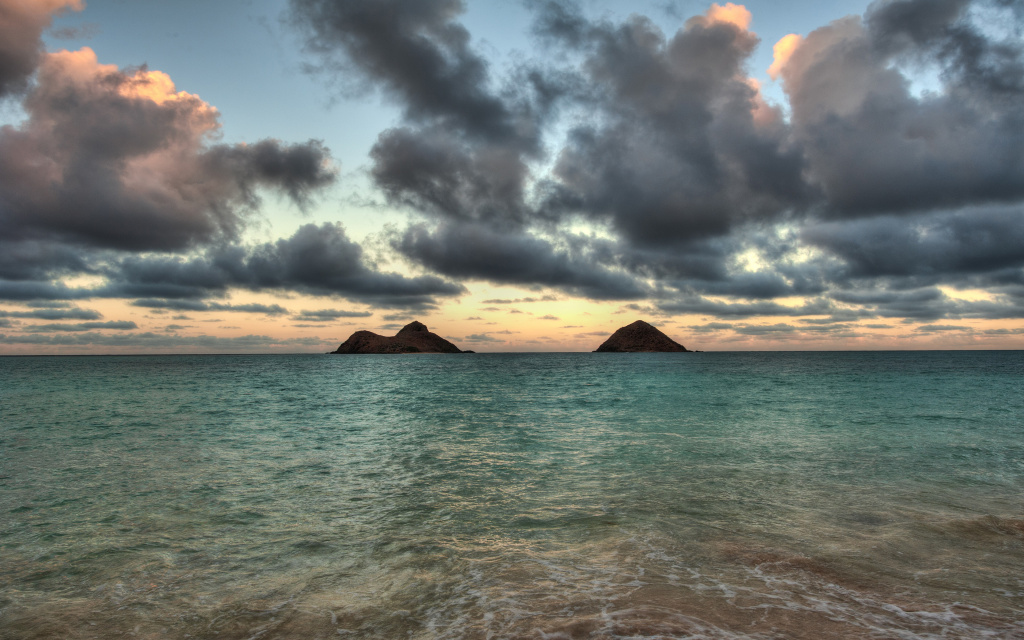 Mokulas From Lanikai HD Wallpaper