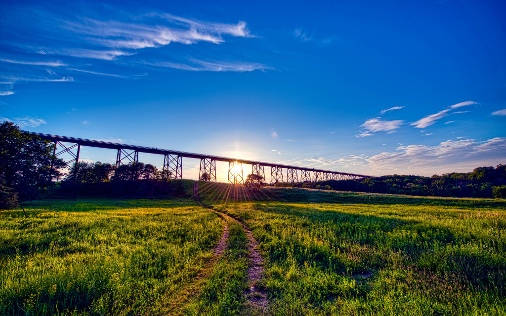 Moodna Viaduct HD Wallpaper