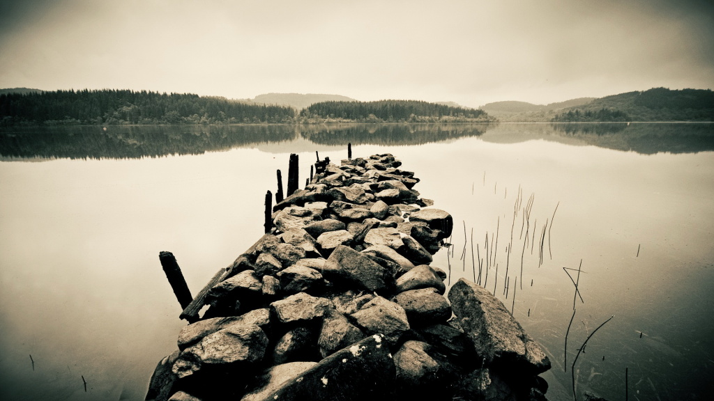 Old Dock HD Wallpaper