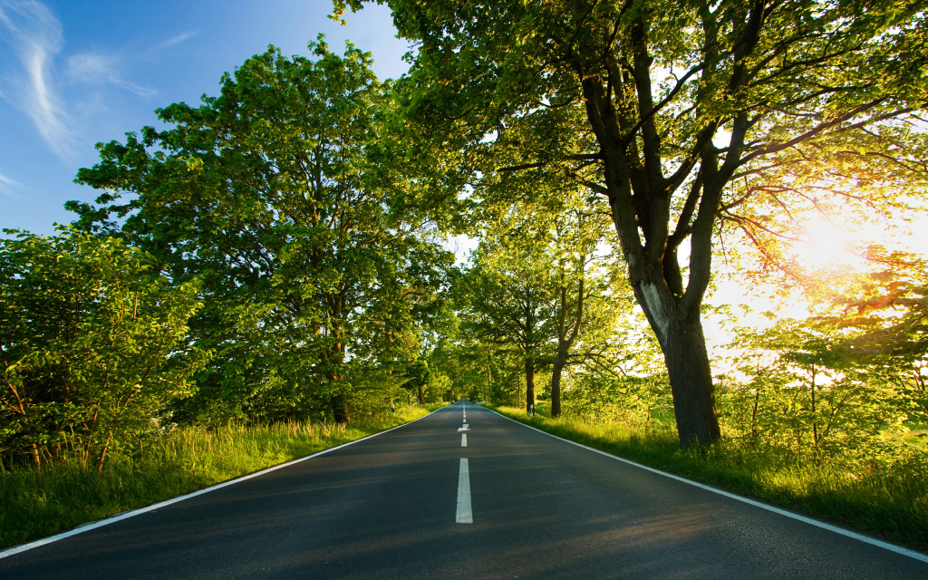 Road, Summer HD Wallpaper