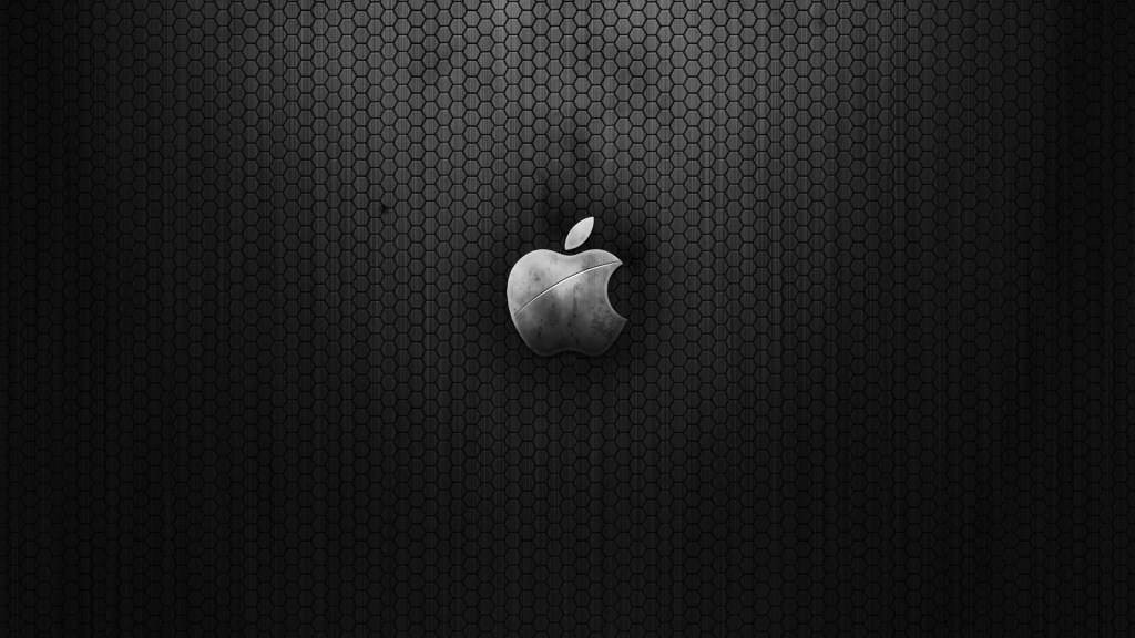 Steel Apple HD Wallpaper