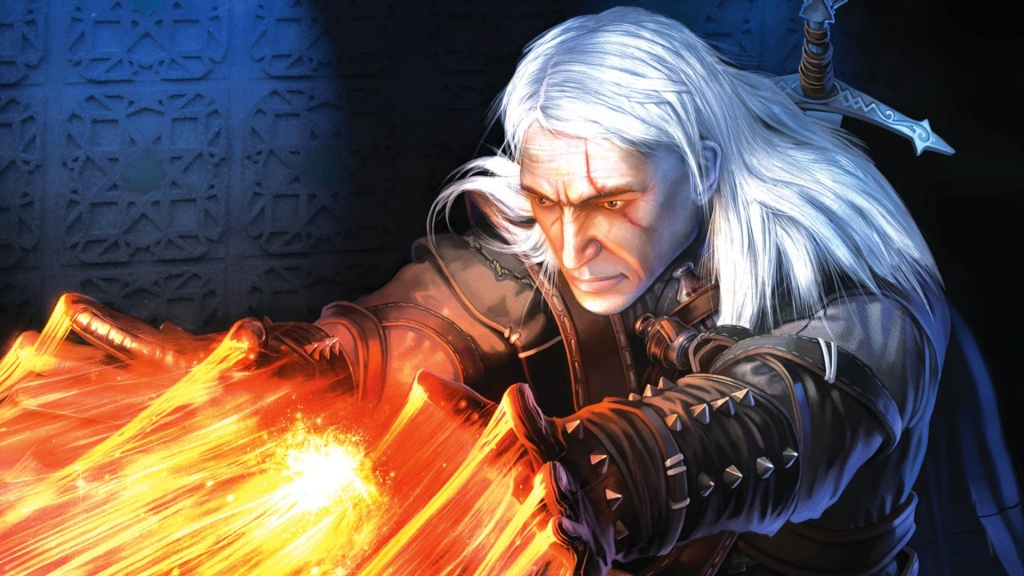 The Witcher Game Art HD Wallpaper