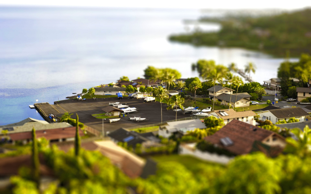 TiltShift Fake HD Wallpaper