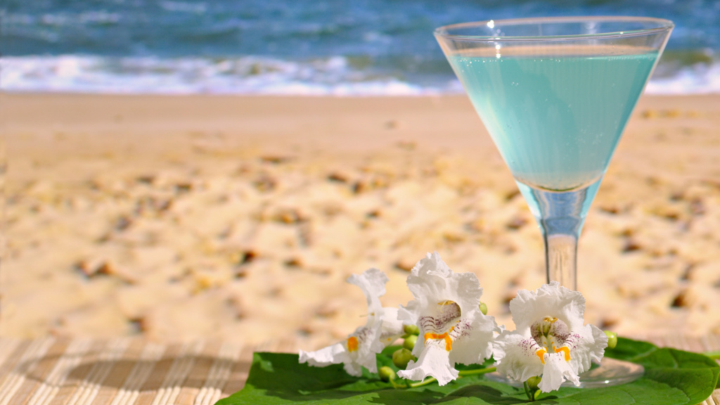 Tropical Cocktail HD Wallpaper