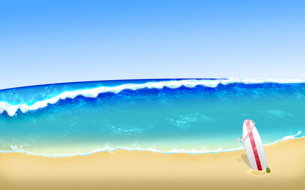 Wave HD Wallpaper