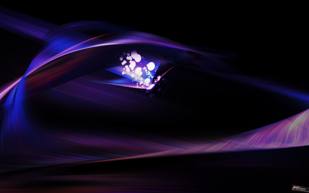 Abstract Purple Background And Light Bokeh HD Wallpaper