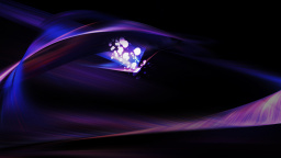 Abstract Purple Background And Light Bokeh