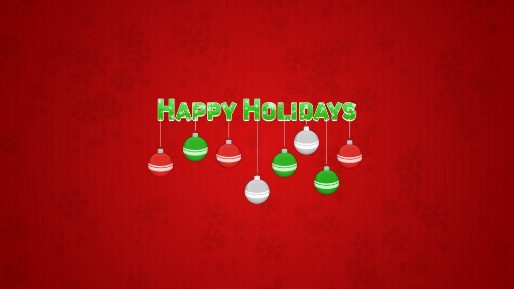 Happy Holidays HD Wallpaper