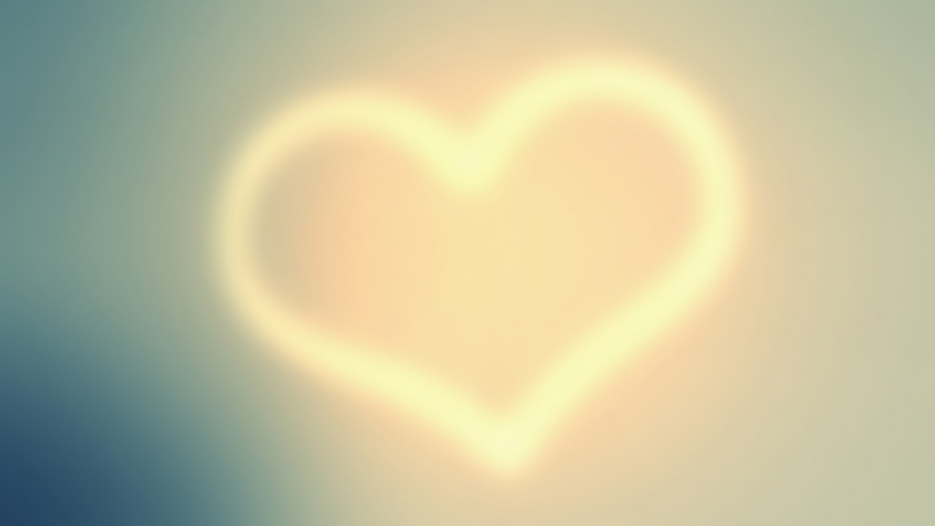 Love Heart HD Wallpaper