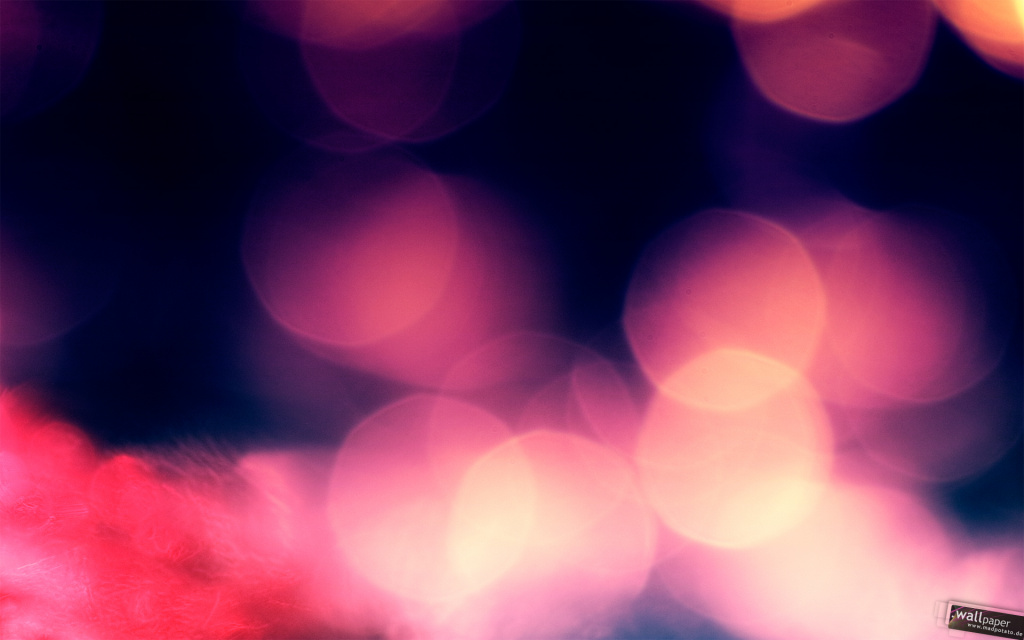 Night Bokeh HD Wallpaper