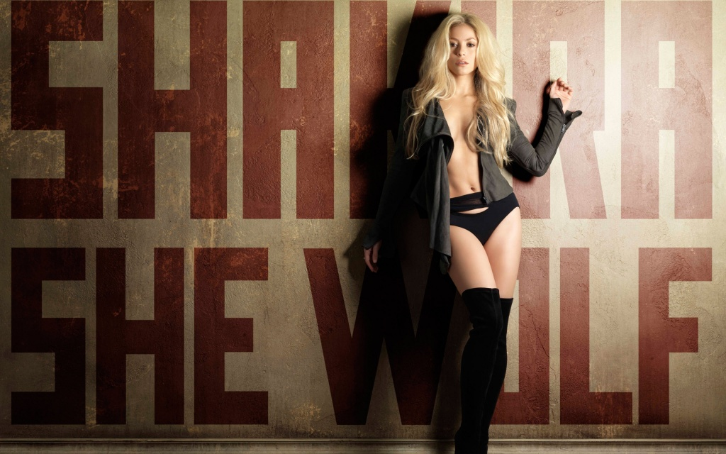 Shakira She Wolf HD Wallpaper