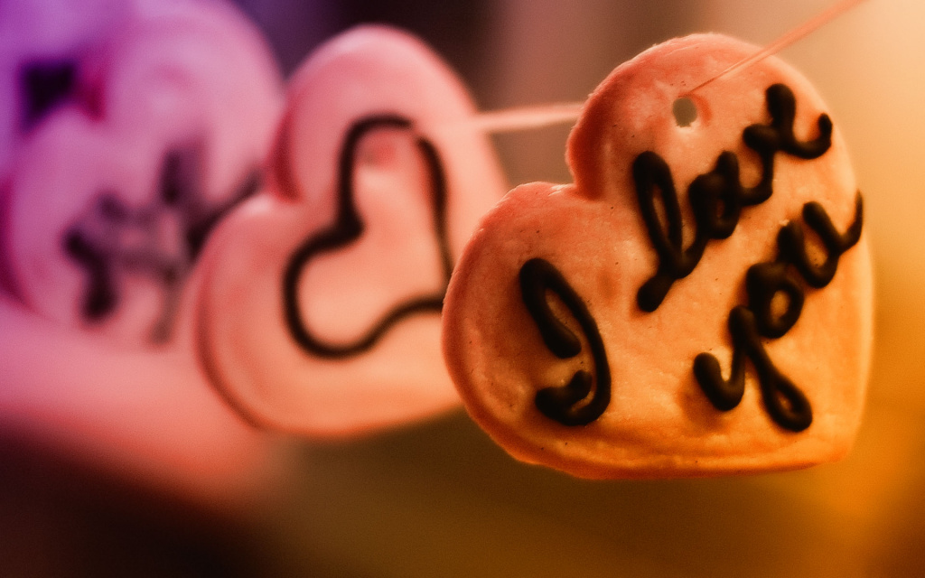 Valentine's Day Cookies HD Wallpaper
