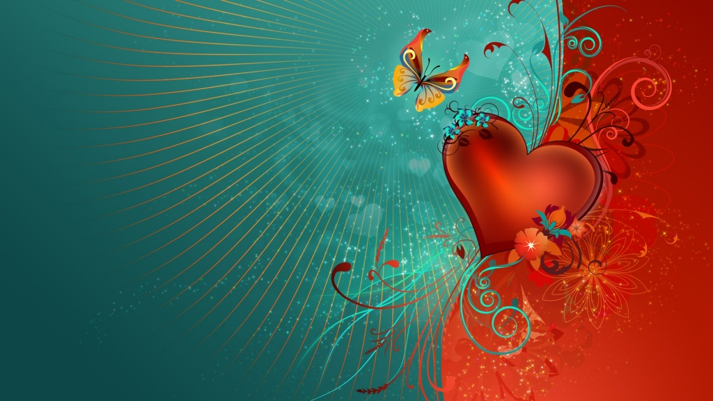 Valentine's Day Heart HD Wallpaper