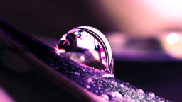 Water Drop Reflection